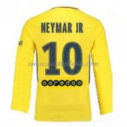Ligue 1 Paris Saint Germain Psg 2017-18 Neymar Jr 10 Uitshirt Lange Mouw..