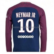 Ligue 1 Paris Saint Germain Psg 2017-18 Neymar Jr 10 Thuisshirt Lange Mouw..