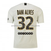 Ligue 1 Voetbalshirts Paris Saint Germain Psg 2018-19 Dani Alves 32 Uitshirt..