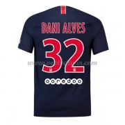 Ligue 1 Voetbalshirts Paris Saint Germain Psg 2018-19 Dani Alves 32 Thuisshirt..
