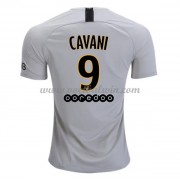 Ligue 1 Voetbalshirts Paris Saint Germain Psg 2018-19 Edinson Cavani 9 Uitshirt..