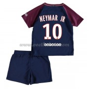 Paris Saint Germain Psg Voetbaltenue Kind 2017-18 Neymar Jr 10 Thuisshirt..