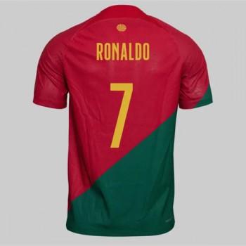 Goedkope Voetbaltenues Portugal Elftal WK 2018 Cristiano Ronaldo 7 Thuisshirt