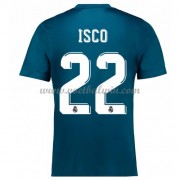 La Liga Voetbalshirts Real Madrid 2017-18 Isco 22 Third Shirt..