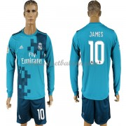 La Liga Voetbalshirts Real Madrid 2017-18 James Rodriguez 10 Third Shirt Lange Mouw..