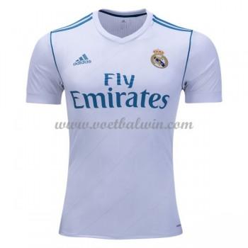La Liga Voetbalshirts Real Madrid 2017-18 Thuisshirt