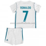 Real Madrid Voetbaltenue Kind 2017-18 Cristiano Ronaldo 7 Thuisshirt