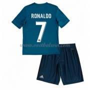 Real Madrid Voetbaltenue Kind 2017-18 Cristiano Ronaldo 7 Third Shirt..