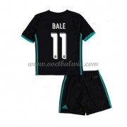 Real Madrid Voetbaltenue Kind 2017-18 Gareth Bale 11 Uitshirt..