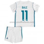 Real Madrid Voetbaltenue Kind 2017-18 Gareth Bale 11 Thuisshirt..
