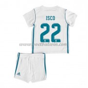 Real Madrid Voetbaltenue Kind 2017-18 Isco 22 Thuisshirt..