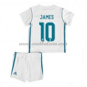 Real Madrid Voetbaltenue Kind 2017-18 James Rodriguez 10 Thuisshirt..