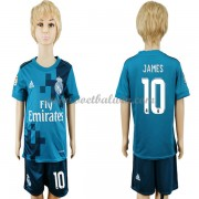 Real Madrid Voetbaltenue Kind 2017-18 James Rodriguez 10 Third Shirt..