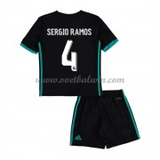 Real Madrid Voetbaltenue Kind 2017-18 Sergio Ramos 4 Uitshirt..
