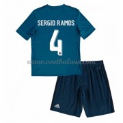 Real Madrid Voetbaltenue Kind 2017-18 Sergio Ramos 4 Third Shirt..