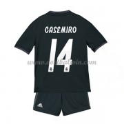 Real Madrid Voetbaltenue Kind 2018-19 Carlos Casemiro 14 Uitshirt..