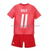 Real Madrid Voetbaltenue Kind 2018-19 Gareth Bale 11 Third Shirt..