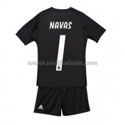 Real Madrid Voetbaltenue Kind 2018-19 Keeper Keylor Navas 1 Thuisshirt..