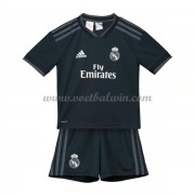Real Madrid Voetbaltenue Kind 2018-19 Uitshirt..