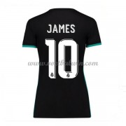 Real Madrid Dames Voetbalshirts 2017-18 James Rodriguez 10 Uitshirt..