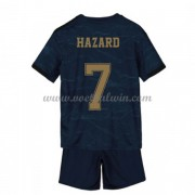 Real Madrid Voetbaltenue Kind 2019-20 Eden Hazard 7 Uitshirt..