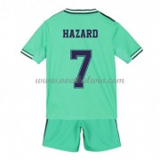 Real Madrid Voetbaltenue Kind 2019-20 Eden Hazard 7 Third Shirt..