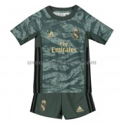 Real Madrid Voetbaltenue Kind 2019-20 Keeper Uitshirt..