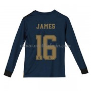 Real Madrid Voetbaltenue Kind 2019-20 James Rodriguez 16 Uitshirt Lange Mouw..
