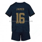 Real Madrid Voetbaltenue Kind 2019-20 James Rodriguez 16 Uitshirt..