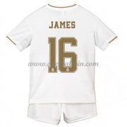 Real Madrid Voetbaltenue Kind 2019-20 James Rodriguez 16 Thuisshirt..