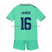 Real Madrid Voetbaltenue Kind 2019-20 James Rodriguez 16 Third Shirt..