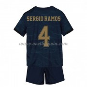 Real Madrid Voetbaltenue Kind 2019-20 Sergio Ramos 4 Uitshirt..