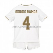 Real Madrid Voetbaltenue Kind 2019-20 Sergio Ramos 4 Thuisshirt..