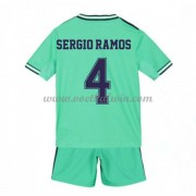 Real Madrid Voetbaltenue Kind 2019-20 Sergio Ramos 4 Third Shirt..