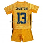 Real Madrid Voetbaltenue Kind 2019-20 Thibaut Courtois 13 Keeper Thuisshirt..