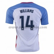 Goedkope Voetbalshirts USA Elftal 2016 Danny Williams 14 Thuis Tenue..