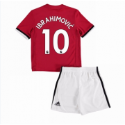 Manchester United Voetbaltenue Kind 2017-18 Zlatan Ibrahimovic 10 Thuisshirt..