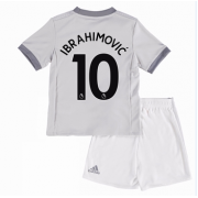 Manchester United Voetbaltenue Kind 2017-18 Zlatan Ibrahimovic 10 Third Shirt..