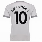Premier League Voetbalshirts Manchester United 2017-18 Zlatan Ibrahimovic 10 Third Shirt..